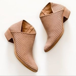 Lucky Brand Breeza Perforated Ankle Booties